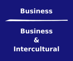 Let's talk about intercultural things and business